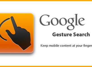 Google-Gesture-Search