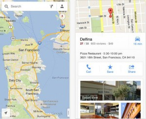 google maps for itunes