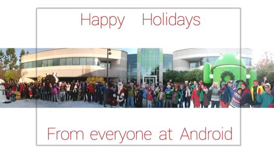 happy holidays android