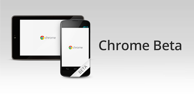 chrome-beta update