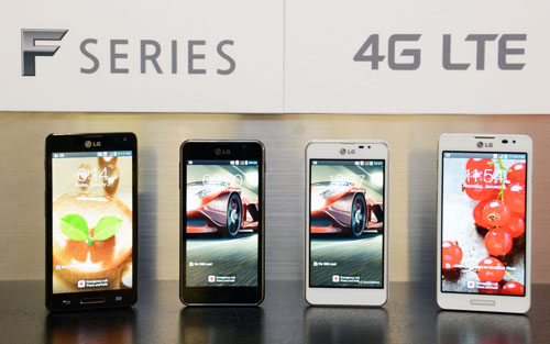 LG Optimus F Series Announced Includes Optimus F5 And