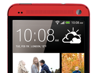 HTC-one red color