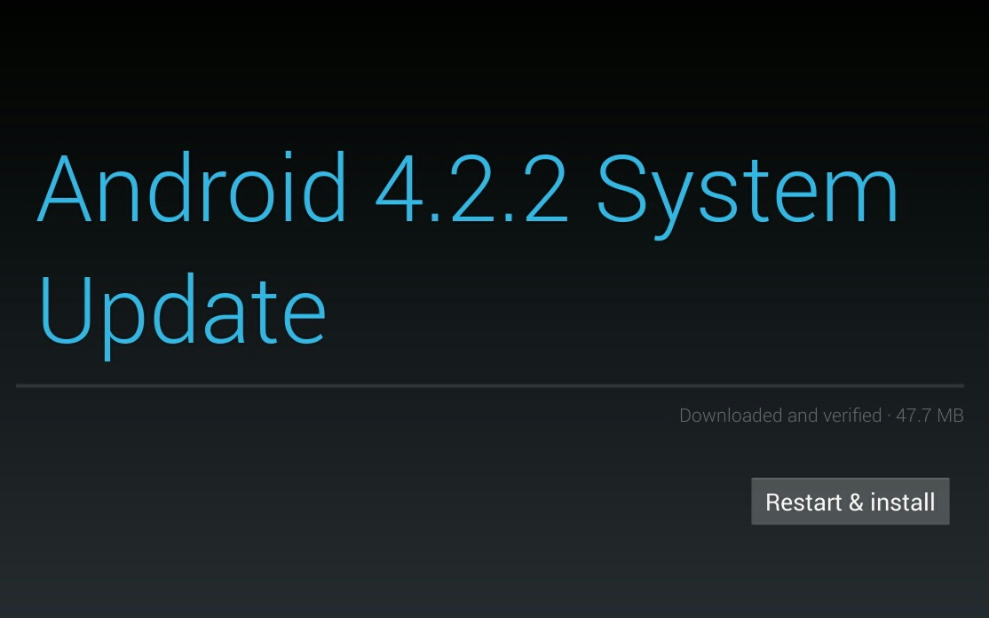 android 4.2.2 official changelog