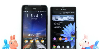 Sony Xperia Z VS HTC Butterfly benchmarks