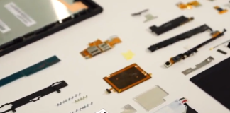 xperia z tablet torn down