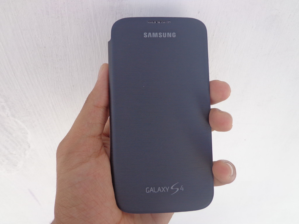 galaxy s4 flip cover fornt