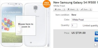 galaxy s4 over ebay