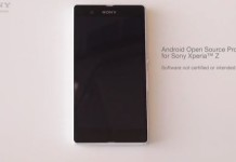 sony xperia z open source project