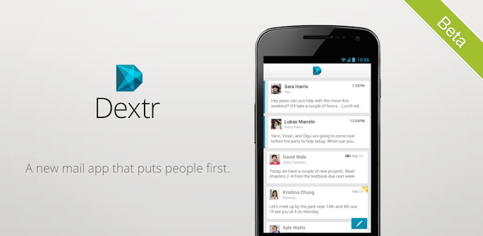 dextr email client for android