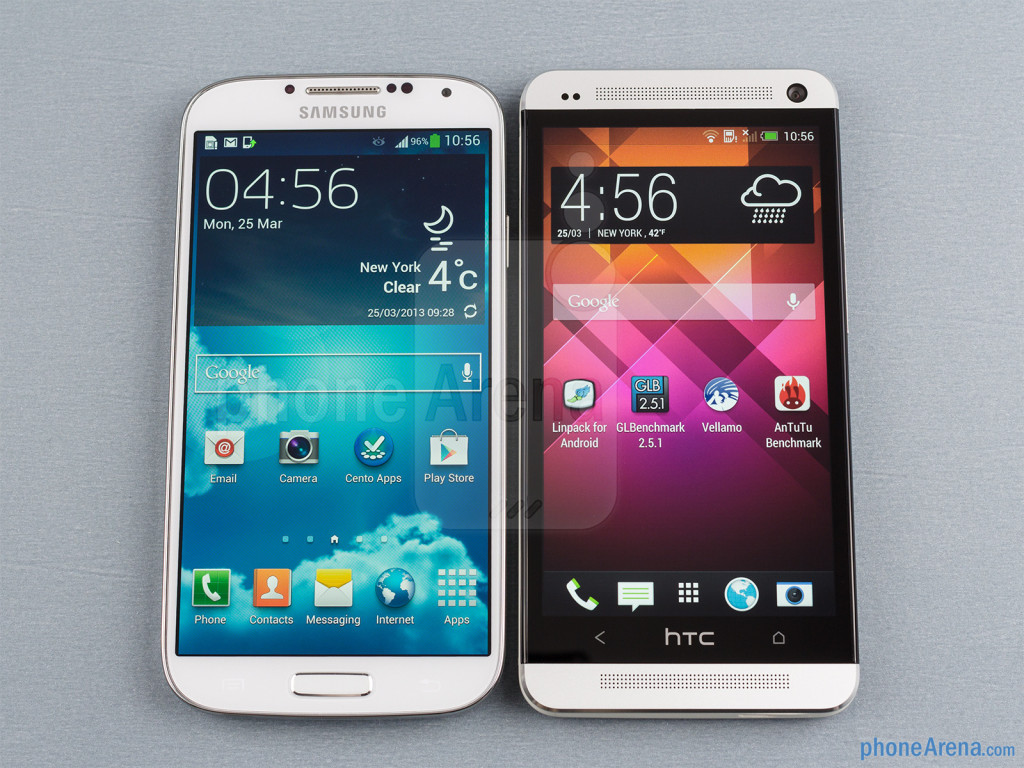 HTC One Mini vs Samsung S4 Mini