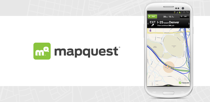 mapquest best android play store apps