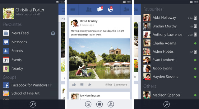 facebook beta on android