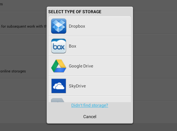 cloud cube storage