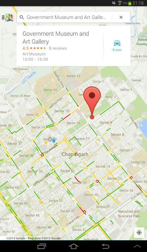 Google Maps Updated to Version 7