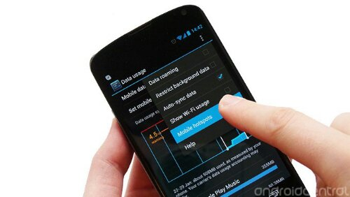 Prevent Data Charges on Roaming