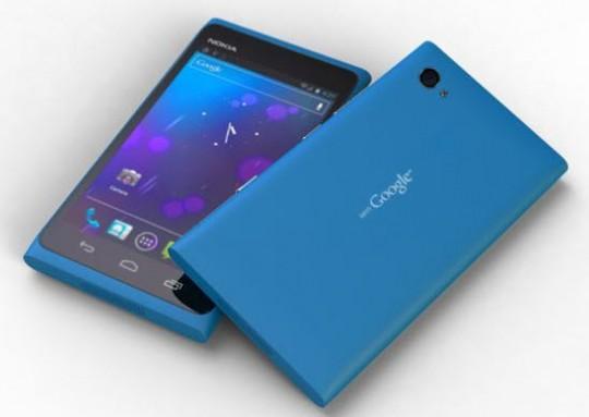 Nokia Android Lumia Mountain View