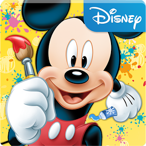 mickey paint and play top disney interactive android apps