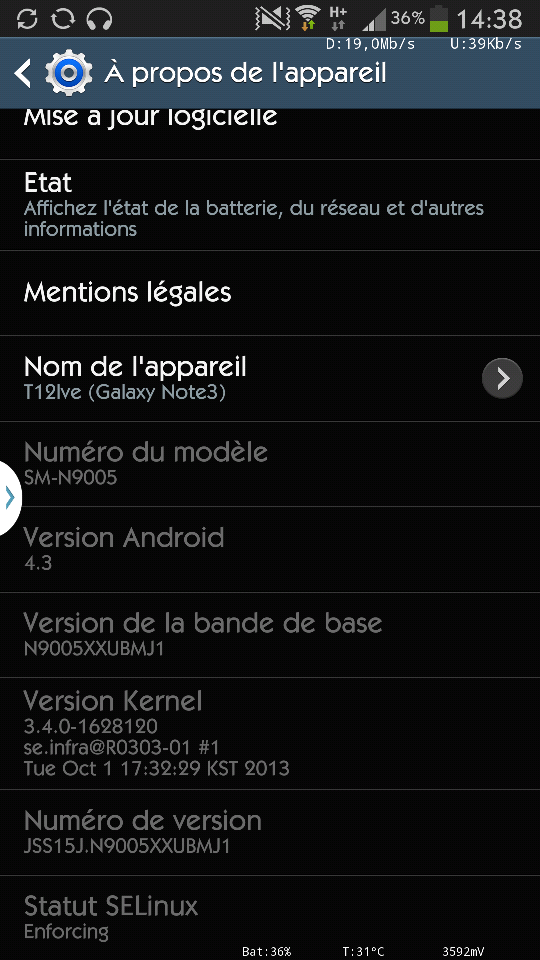 galaxy note 3 europe update