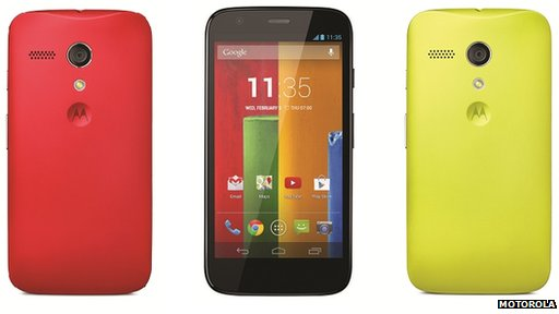 Moto G Images
