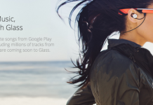 google Glass listen to