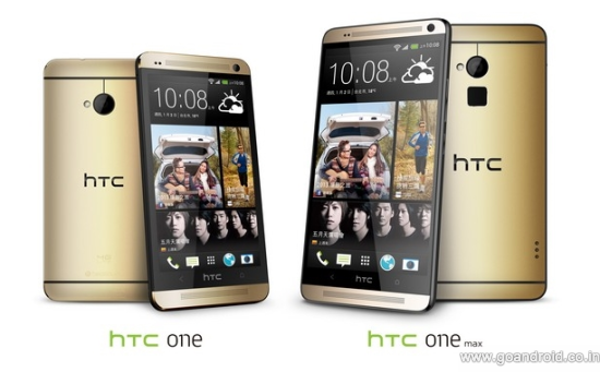 amber gold htc one