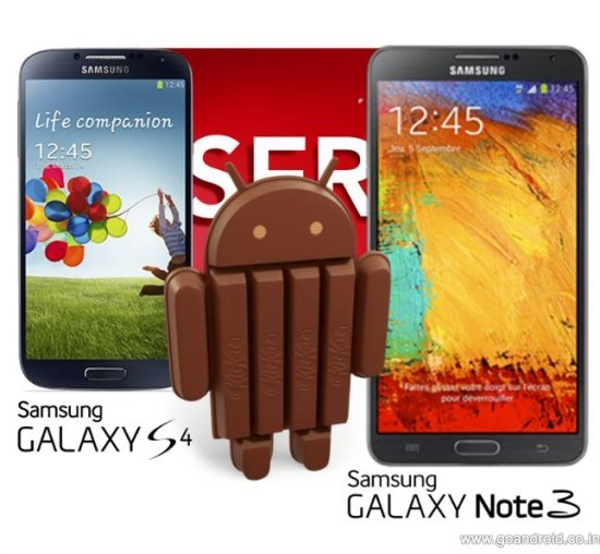 samsung galaxy devices in us android 4.4 kitkat