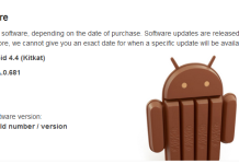 Android 4.4.2 Update out for Xperia Z1
