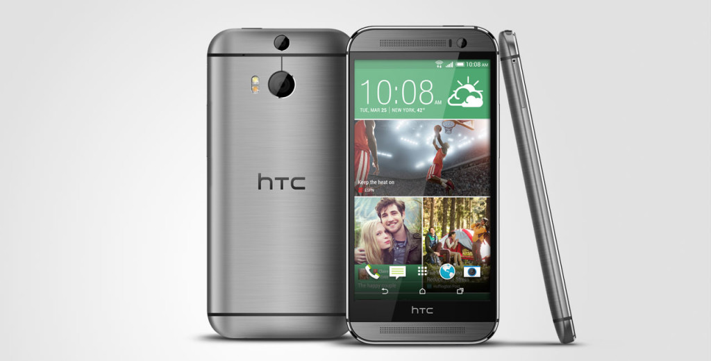 htc one front