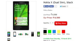 nokia x listed mobile store