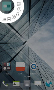 quick settings widgets dodol launcher