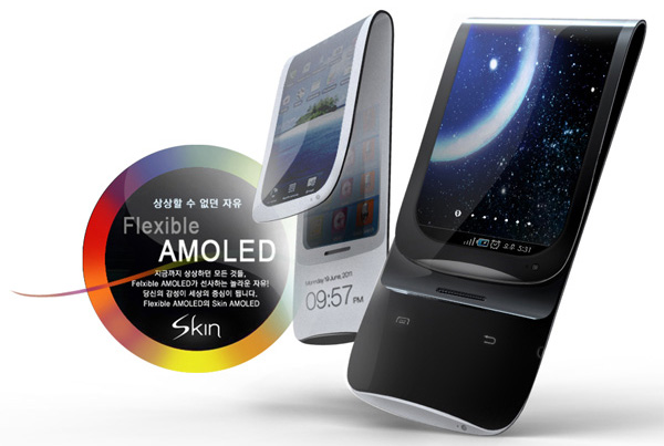 Galaxy s6 flexible display