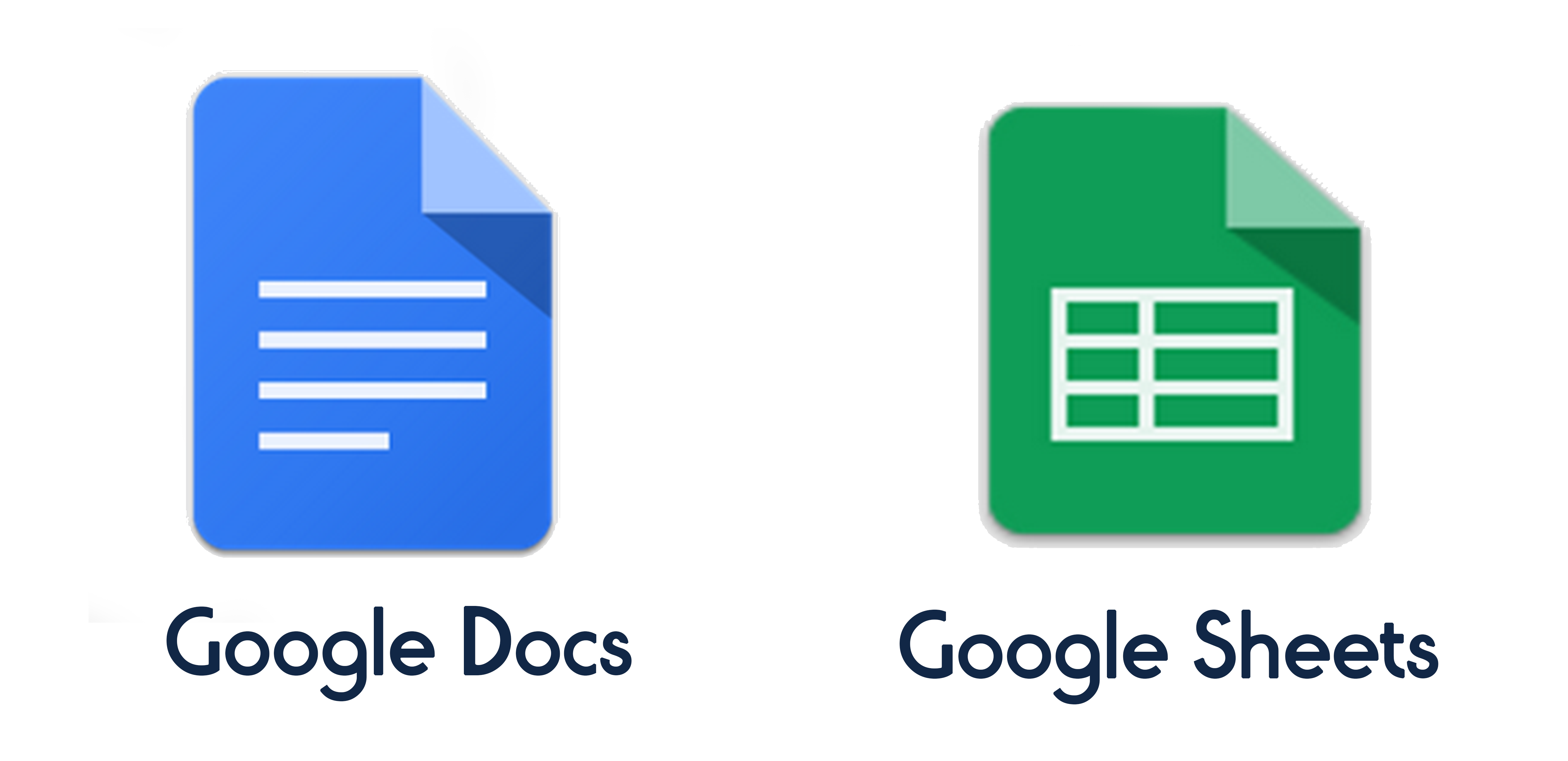 Google Docs And Sheets Apps