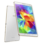 Galaxy Tab S 8.4 back and front