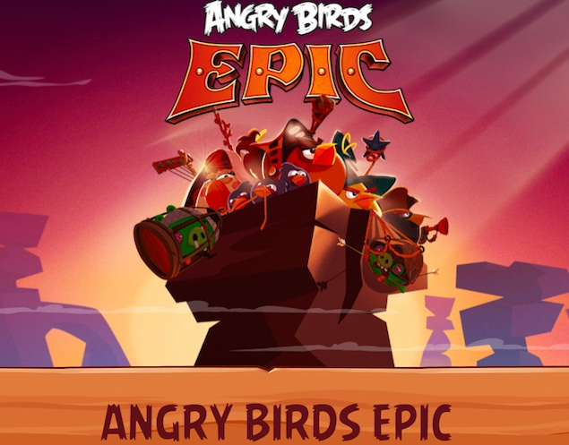 angry birds epic launch