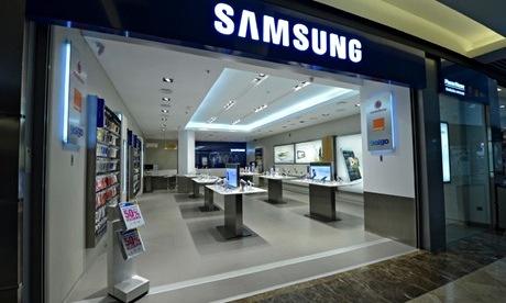 Samsung trial store in Spain