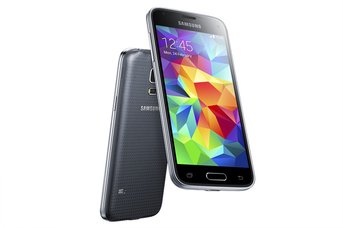 galaxy s5 mini SM G800H back and front