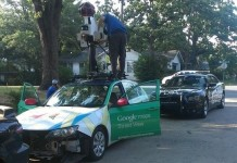 maps street view car accident