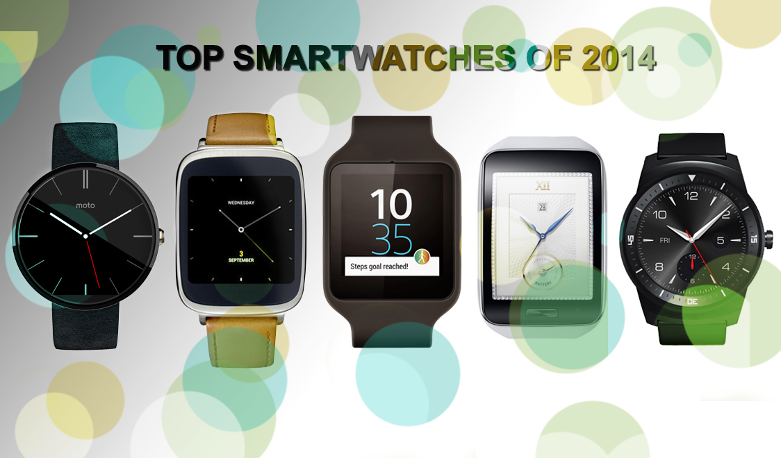 top 5 smartwatches of 2014