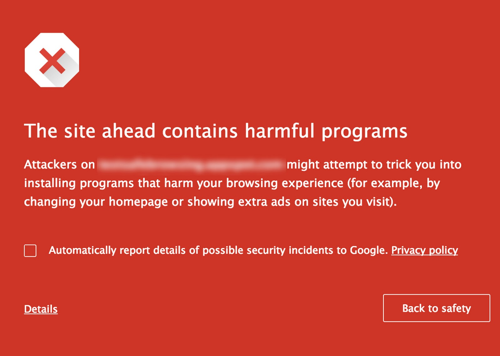 SafeBrowsing By Google