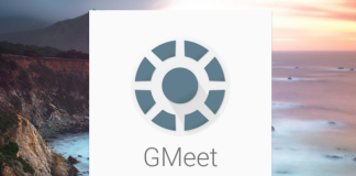 Googel's GMeet app for Android