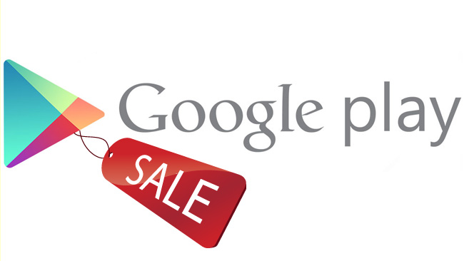 play store sales