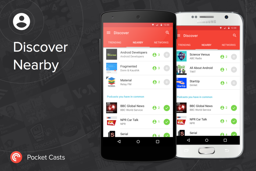 discovernearby pocket cast