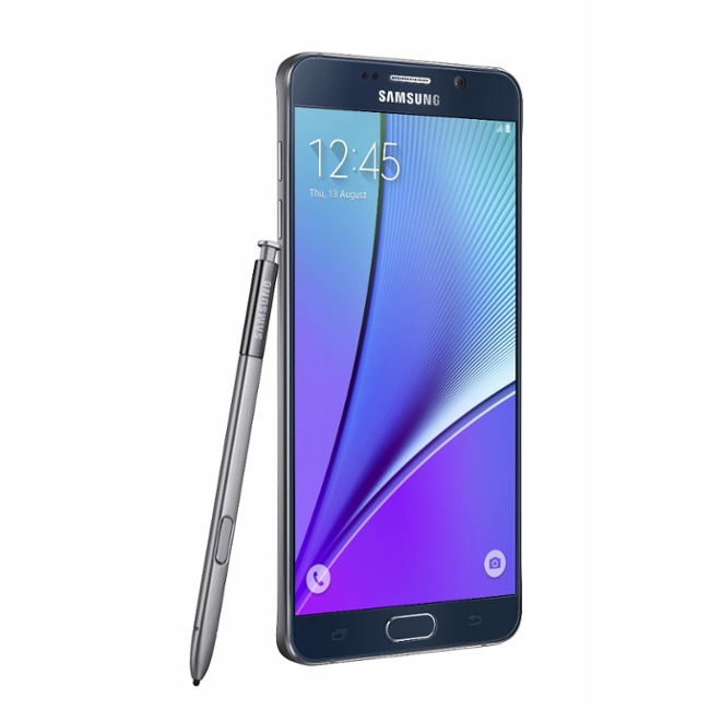 galaxy note 5 black