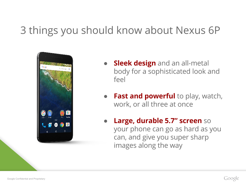 nexus 6p features