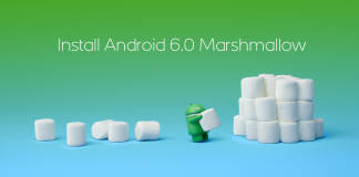 isntall android 6 marshmallow
