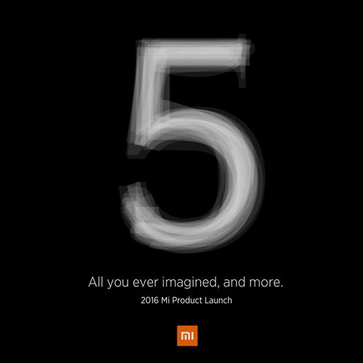 xiaomi mi 5 launch event