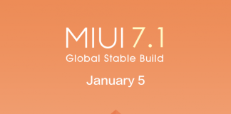 MIUI 7.1 global rollout