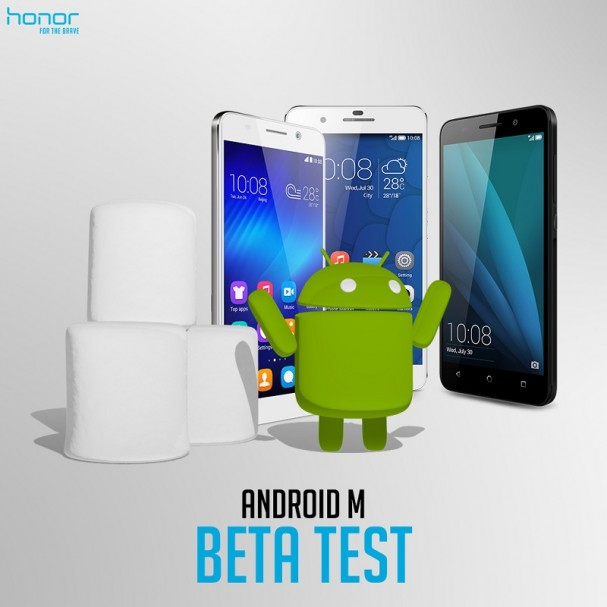 Huawei Android 6 BETA test