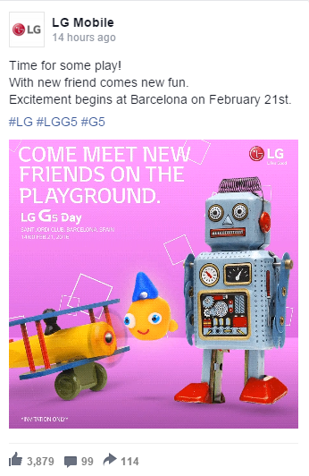LG G5 launch date