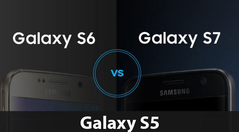 Samsung Galaxy S7 vs Galaxy S6 vs Galaxy S5 Comparison ...